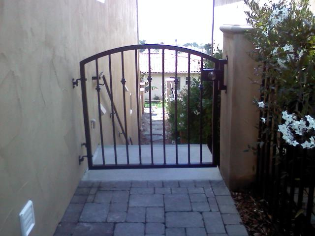Iron Pedestrian Gate